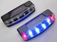 Wholesale LED Solar Charger Car Violent flash Burglar Alarm Auto light Sensitive Auto LED Warning light Sensitive