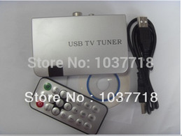 2017 tuner vidéo audio Gros-numérique haute définition Mini USB VGA LCD CRT DVBT Set Top Box TV par satellite Tuner. Audio et Video Decoder promotion tuner vidéo audio