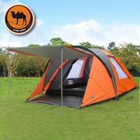 Wholesale professional camel brand camping tents civil defense storm