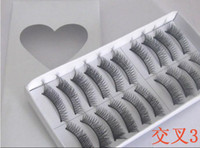2013 NEW arrival X- 3# black False Eyelashes Fake Eye lashes ...
