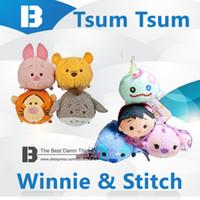 baby wipers - TSUM Tsum Hawaii Lilo amp Stitch Winnie Tigger Plush Toys Mobile Screen Wiper or Small Pendant or Mini Pelucia Babies