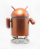 Wholesale Google Android Robot Mini Speaker with TF Card Slot amp FM Raido with Retail Package