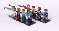 Wholesale Baby Toys Green Lantern Minifigures SY186 Educational Bricks Compatible With Legao without original box