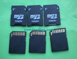 Wholesale SD card adapter TF MICRO SD SDHC TO SD CARD Adapter Can imprint your logo with some extre fee