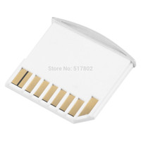 Wholesale Hot Micro for SD Card Adapter TF Memory to Short for SD Adapter For MacBook Pro Air Drop Shipping