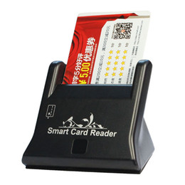 Wholesale Moodeosa New USB Smart Card Reader Support Network ATM Banking Transfers Tax Creadit Card Freeshipping