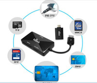atm card reader - Ho off S333 mobile phone SIM card reader smart card reader to copy edit No ATM TF usb2 Multi in card reader