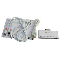 av connection kit - in HDMI Dock Adapters AV USB Cables HDMI Camera Kit Connection Kit For Apple iPad iPhone S IPod touch