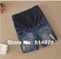 best maternity clothes - New Maternity Clothing Hole High Quality Denim Shorts Pants Best Selling