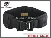 military equipment - NEW EMERSON MOLLE Padded Molle Waist Belt Men Airsoft Combat Military Army equipment BLACK KH FG EM9086E D F