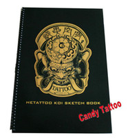 Cheap HETATTOO KOI SKETCH BOOK A3 Tattoo designs uncanny tattoo magazine sketch tattoo flash