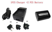 Wholesale 1PCS Charger Battery Sony NP FH50 NPFH50 Camera Battery Sony Digital Camera Battery