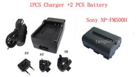 Wholesale 1PCS Charger Battery Sony NP FM500H NPFM500H Batteries Sony Digital Camera Battery