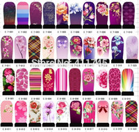 best nail decals - C1 C8 series New Arrival Best selling sheets hundreds designs water decals DIY nail art sticker Nail art use