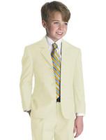 Reference Images attire clothes - Kid Clothing New Style Complete Designer Boy Wedding Suit Boys Attire Jacket Pants Tie Vest C812W