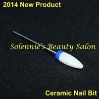 Wholesale Nail Drill Ceramic Flame Bit Nail Bit