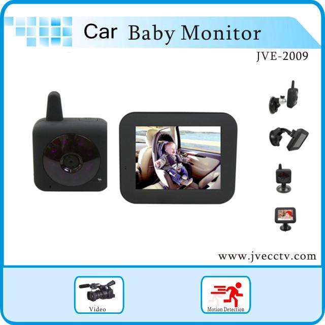 best wholesale babycam car wireless in car digital video baby monitor with 3 5 inch screen. Black Bedroom Furniture Sets. Home Design Ideas