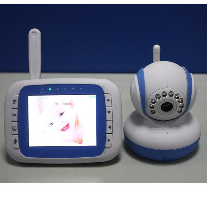 2017 wholesale 2015 new musical wireless baby video monitors monitor night vision vox. Black Bedroom Furniture Sets. Home Design Ideas