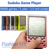 Wholesale Hot Sale Sudoku game player handheld Multi Color inch screen level games player
