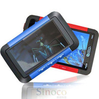Cheap Wholesale-Brand New 3 inch TFT Screen Real 8GB MP4 MP5 Game Player with FM Radio Ebook TV- out Red Blue