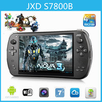 android game console jxd - Original GamePad JXD S7800B Tablet PC Android RK3188T Quad Core inch IPS GB GB Dual Camera Game Player Consoles