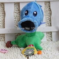 Wholesale CM Snow Pea Plants vs zombies doll plush toy Doll Top games Baby Toy for Children Gifts toys Hot sales