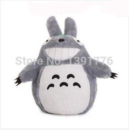Wholesale-20cm Christmas Promotion Japan Anime TOTORO Soft & Stuffed Plush Toys Doll Pillow Cushion Birthday gift