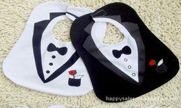 Wholesale-Formal dress style new fashion cartoon baby bibs for babies kids boys girls clothes clothing bib wear