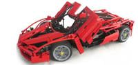 Wholesale No Original Box Bela Enzo Car Model Building Block Sets Educational Jigsaw DIY Construction Bricks for children