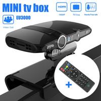 Wholesale HD22 L EU3000 MP Camera Android Dual Core HD Smart TV Box Video Phone Network GB GB Network Android TV Box
