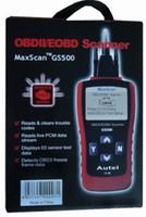 al por mayor actron lector de obd2-GS 500 lector de código / GS500 Nueva CAN OBD II OBD2 escáner de código / 20 PC / porción