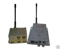 Wholesale 1 Ghz Wireless mW Receiver AV CCTV Ch Transmitter