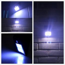 Wholesale Big Promotion Solar Power LED PIR Motion Sensor Light Outdoor Waterproof Garden Wall Lawn Landscape Yard Lamp