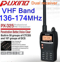 best power vhf - PUXING PX VHF MHZ dual receive way radio With W High Power and Multi Function best for hotel commercial security