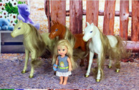 Wholesale Christmas gift Birthday gift Exquisite small horse for Kelly Barbie doll