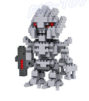 autobot games - New Year Gift LOZ World Nano Autobot Movie Star Blocks Toy Mini Doll DIY Game Gift Tiny Brick Education Toys Collection For Fans