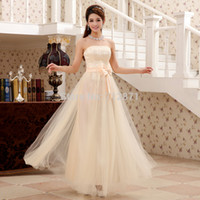 Cheap Wholesale-Enchanting 2015 ready to ship in stock wholesale price Floor length Prom Dresses long with lace under $50 free shipping
