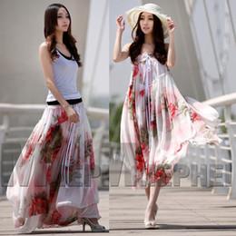 Wholesale new summer bohemia half length skirt women Full flower full length skirt two ways wear meters long pleated maxi skirt