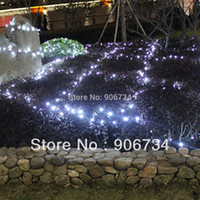 discount christmas lights - Solar Power White Colors Light LEDs Garden Christmas Party String Fairy Lamp on Discount