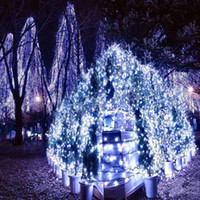 Wholesale Outdoor or Wedding lamp m LED string Colors choice Energy String Fairy Lights Waterproof Party Christmas Garden lights
