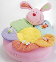 Wholesale ELC Blossom Farm Sit Me Up Cosy Baby Seat Baby Play Mat Small Baby game pad ELC pink rabbit