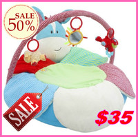 Wholesale discount ELC Blossom Farm Sit Me Up Cosy Baby Seat Baby Play Mat Small Baby game pad ELC Blue donkey