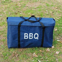 bbq tool tote - Bbq grill portable bag bbq waterproof oxford fabric storage bag BBQ grill bbq tote backpack