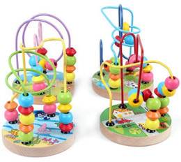 Wholesale Super Deal Wood Models amp Building Toy Balls Around Beaded Frame Educational Supplies On Sale Cheap