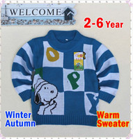 Wholesale new fashion hot good quality sweater boy sweater girls winter warm and comfortable long sleeved sweater