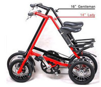 Wholesale new arrive STRIDA inch Aluminum alloy folding bike folding bike flexible