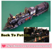 crafts for children - Movie Back To the Future Dr Barlett Train Scale Paper Models Sets Classic D Railroader Paper Crafts Models Toys For Children