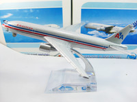 american airlines shipping - American airlines B777 airplane model cm metal AIRLINES PLANE MODEL airbus prototype machine Christmas gift