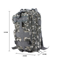 acu rucksack - New Outdoor Sport Military Tactical Backpack Molle Rucksacks Camping Hiking Trekking P Bag ACU Camouflage