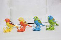 Wholesale set digibirds electric music birds sing Solo Different colors digi birds digibird Music Electric Bird singing bird toy